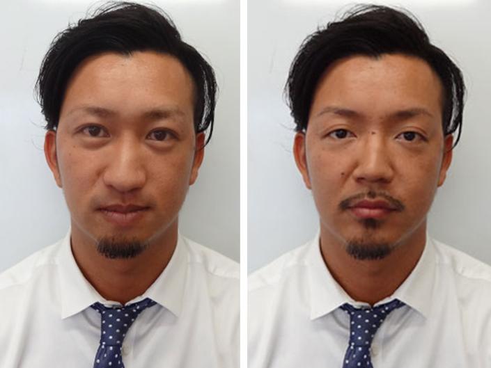 写真の一部「顔」を合成させる方法