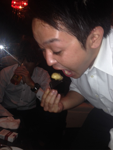 食いしん坊社長