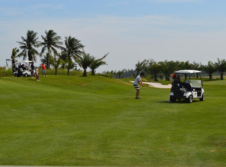 ゴルフ楽しい