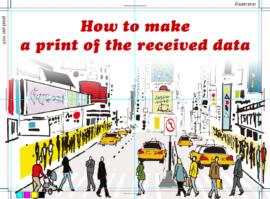ハガキやチラシなどの印刷物、DTPにおける入稿データの作り方