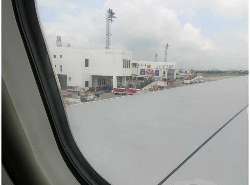 タイに到着です。