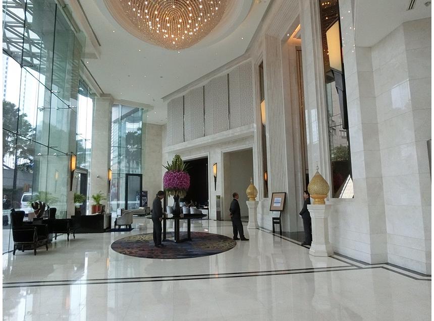 ホテル到着! 今度はバンコク!