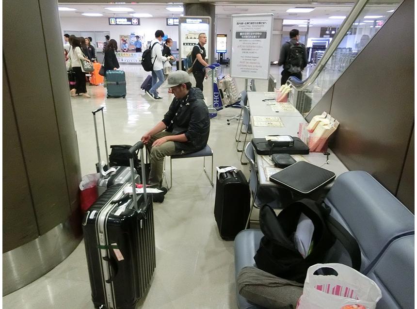 日本への帰還