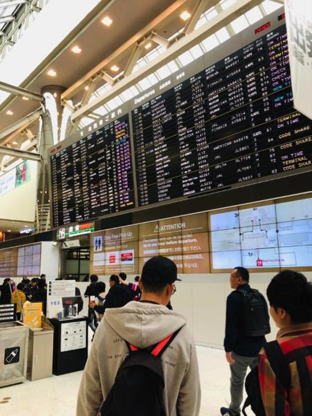 成田空港税関前