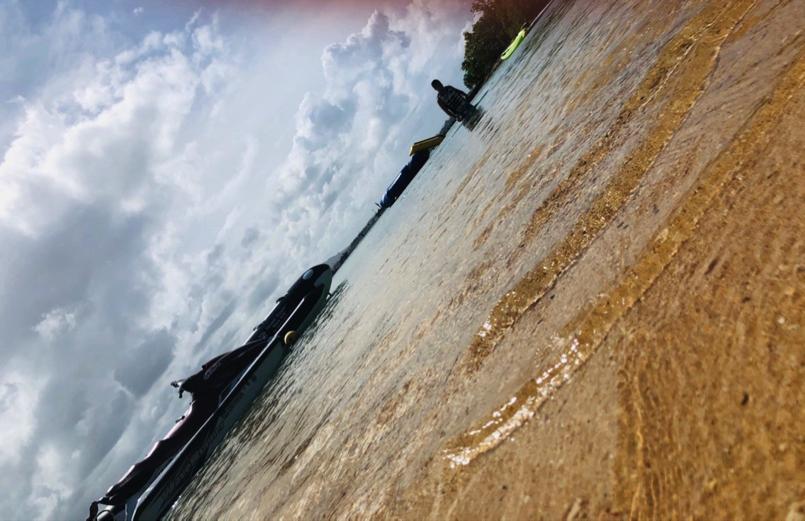 水がきれいですね~